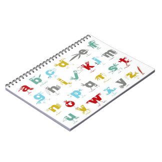 The Pelican Alphabet Notebook