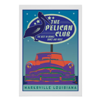 The Pelican Club-Poster
