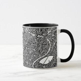 'The Pelt of Pythagoras' Muse' (crop section) Mug