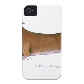 the pembroke welsh corgi, tony fernandes iPhone 4 Case-Mate cases