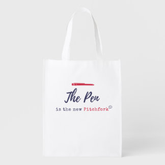 The PEN is the New Pitchfork Reusable Bag