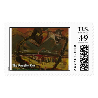 the penalty kick postage stamp
