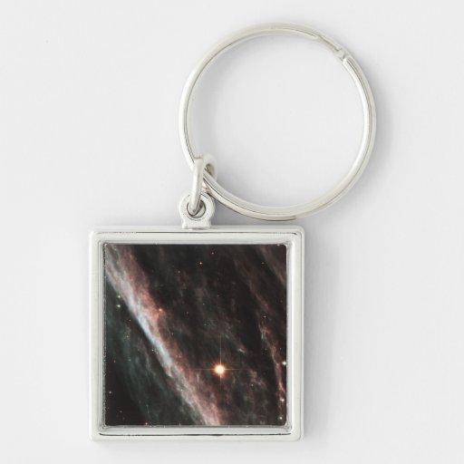 The Pencil Nebula Key Chain