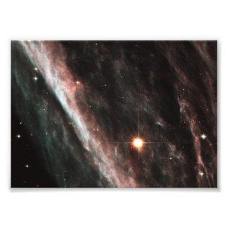 The Pencil Nebula NGC 2736 Photo