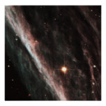 The Pencil Nebula: Remnants of an Exploded Star (N Posters
