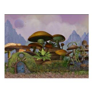 The Penfield Mushroom Plantation Postcard