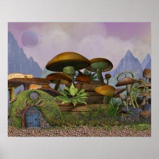 The Penfield Mushroom Plantation Poster