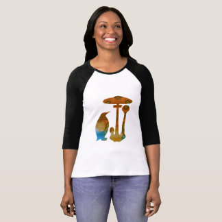 The Penguin And The Mushroom T-Shirt