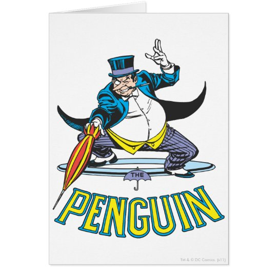 The Penguin Card
