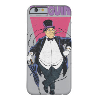 The Penguin - Distressed Graphic Barely There iPhone 6 Case