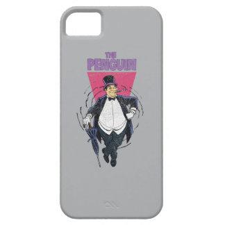 The Penguin - Distressed Graphic iPhone SE/5/5s Case