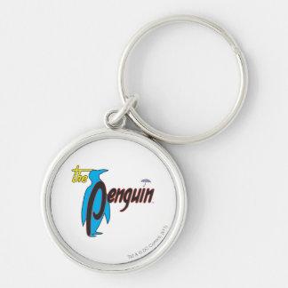 The Penguin Logo 2 Keychain