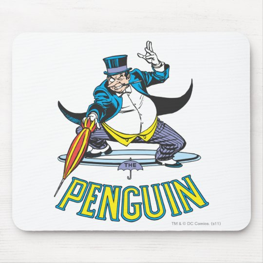 The Penguin Mouse Pad