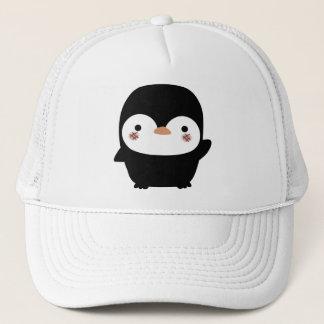 the penguin trucker hat