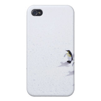 The penguins playing soccer iPhone 4 covers