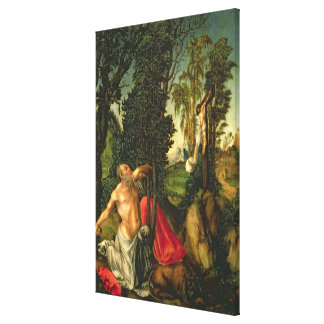 The Penitence of St. Jerome, 1502 Canvas Print