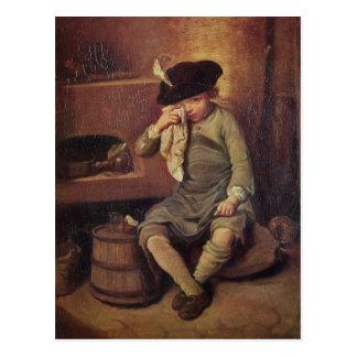 The Penitent Child Postcard