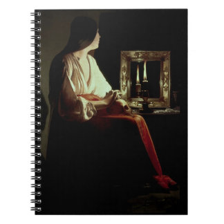 The Penitent Magdalen, c.1638-43 (oil on canvas) Notebook