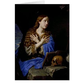 The Penitent Magdalene, 1657 Card