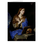 The Penitent Magdalene, 1657 Greeting Card