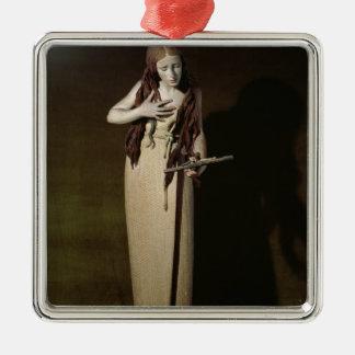 The Penitent Magdalene, 1664 Metal Ornament