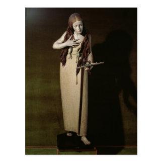 The Penitent Magdalene, 1664 Postcard