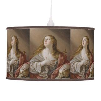 """""""The Penitent Magdalene"""" art lamp"""