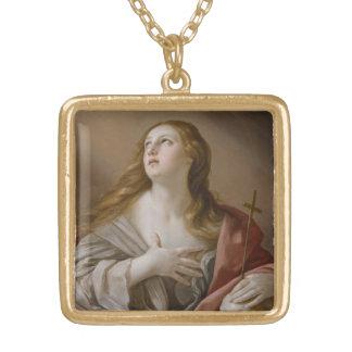 """The Penitent Magdalene"" art necklace"