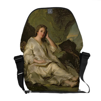 The Penitent Magdalene (oil on canvas) Messenger Bags