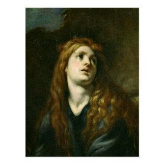 The Penitent Magdalene Postcard