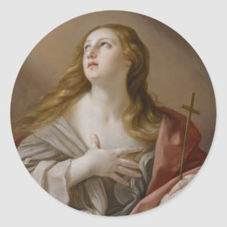 """""""The Penitent Magdalene"""" stickers"""