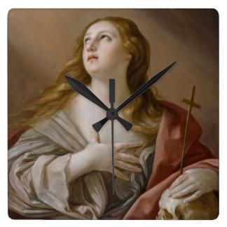 """The Penitent Magdalene"" wall clocks"