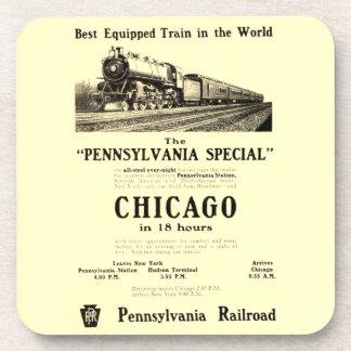 The Pennsylvania Special Cork Coasters