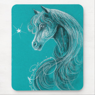 The Pensive Arabian Horse Mouse Pad