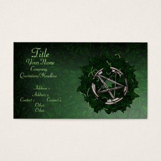The Pentacle & The Ivy Business Card