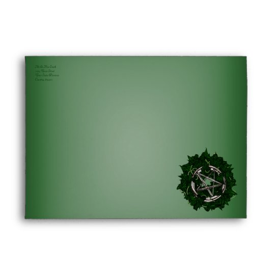 The Pentacle & The Ivy Envelope