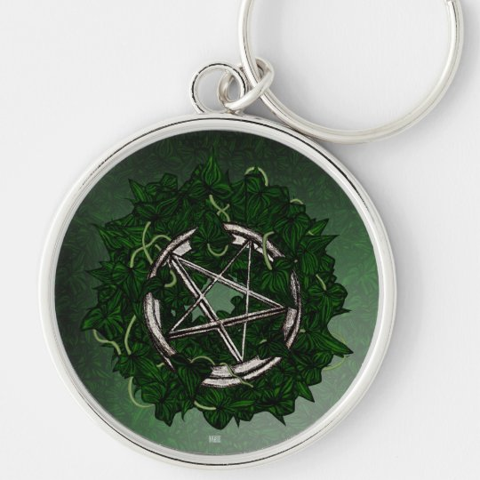The Pentacle & The Ivy Keychain