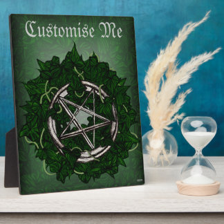The Pentacle & The Ivy Plaque