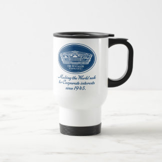 The Pentagon 15 Oz Stainless Steel Travel Mug