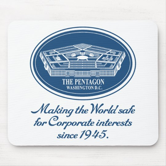 The Pentagon Mouse Pad