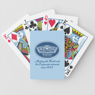 The Pentagon Bicycle Playing Cards
