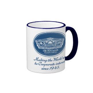 The Pentagon Ringer Coffee Mug