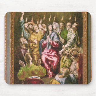 The Pentecost, c.1604-14 Mouse Pad