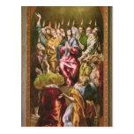 The Pentecost, c.1604-14 Postcard