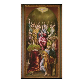 The Pentecost, c.1604-14 Poster
