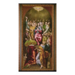 The Pentecost, c.1604-14 Posters