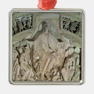 The Pentecost Metal Ornament