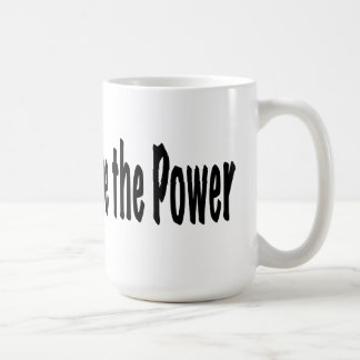 The People Have the Power Coffee Mug