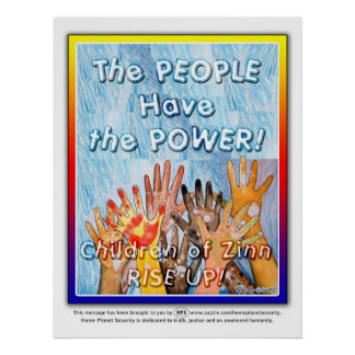 The PEOPLE Have the POWER Posters