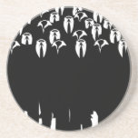 the people of anonymous drink coasters